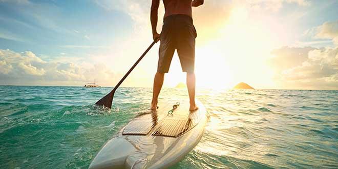 Paddle surf, una buena alternativa para entrenar en el verano
