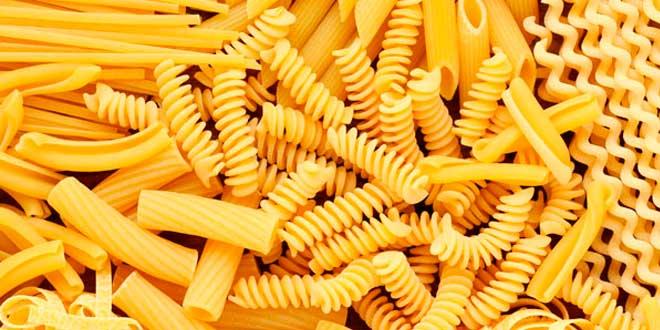 Pasta fuente de carbohidratos