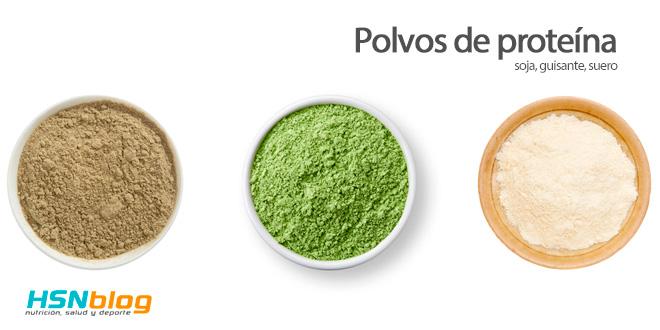 Polvos de proteínas