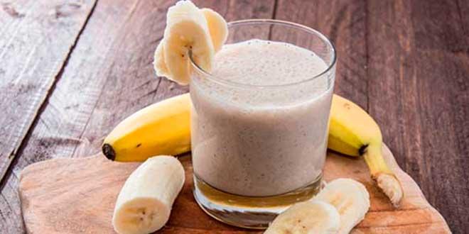 Smoothie de plátano y miel