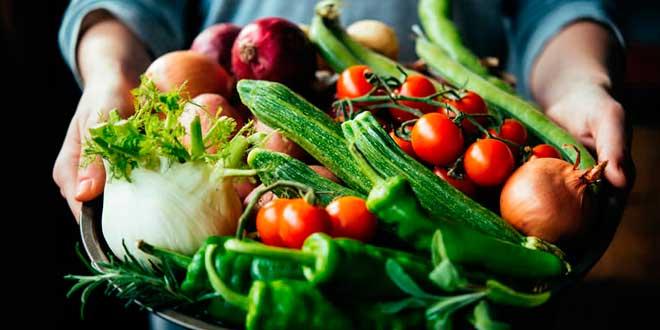 Frutas y Verduras para combatir la retencion de liquidos