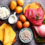 ¿Cuál son los alimentos de origen animal ricos en proteínas?