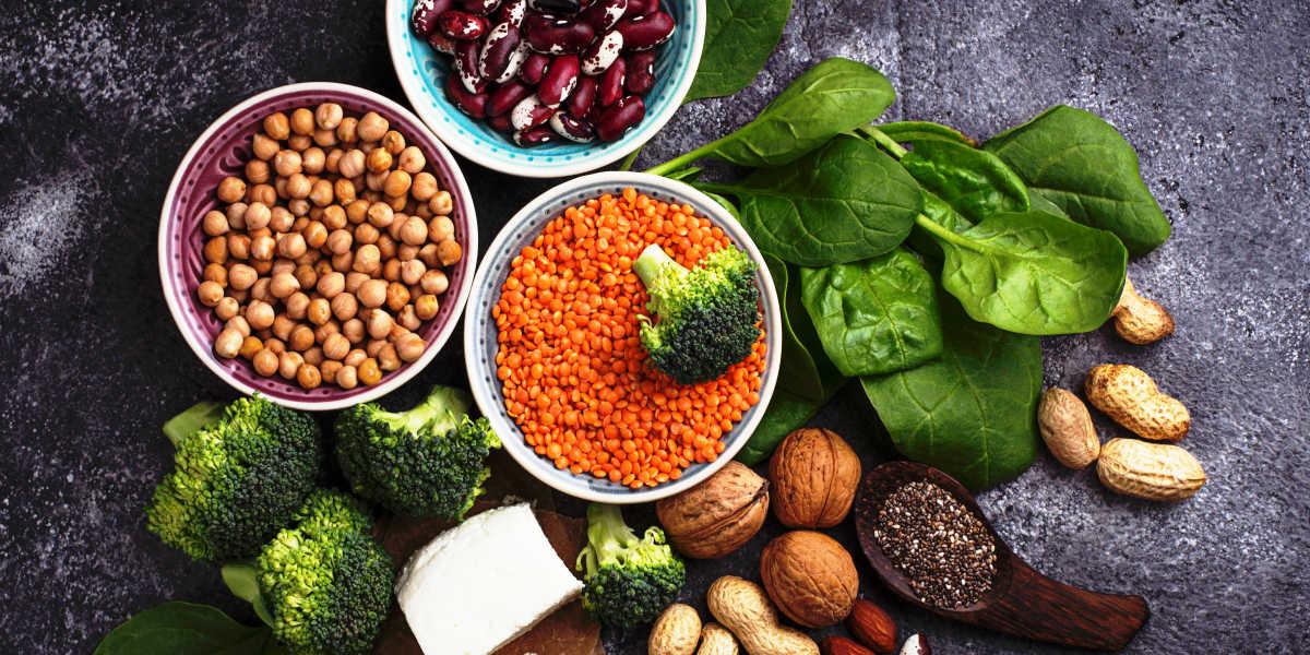 ¿Conoces las mejores fuentes de proteínas veganas?