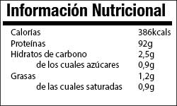 Whey Protein info nutricional