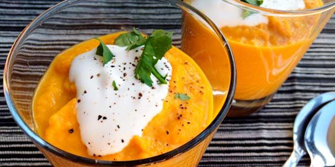 Receta Zanahoria y Leche de Coco