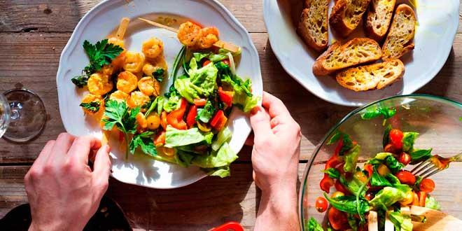 Dieta con Alimentos ricos en Sales Minerales