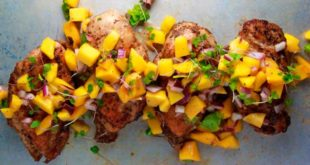 Receta Saludable Pollo Tropical
