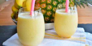 Smoothie de Plátano y Piña