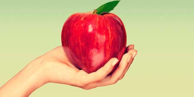 Manzana y Fibra