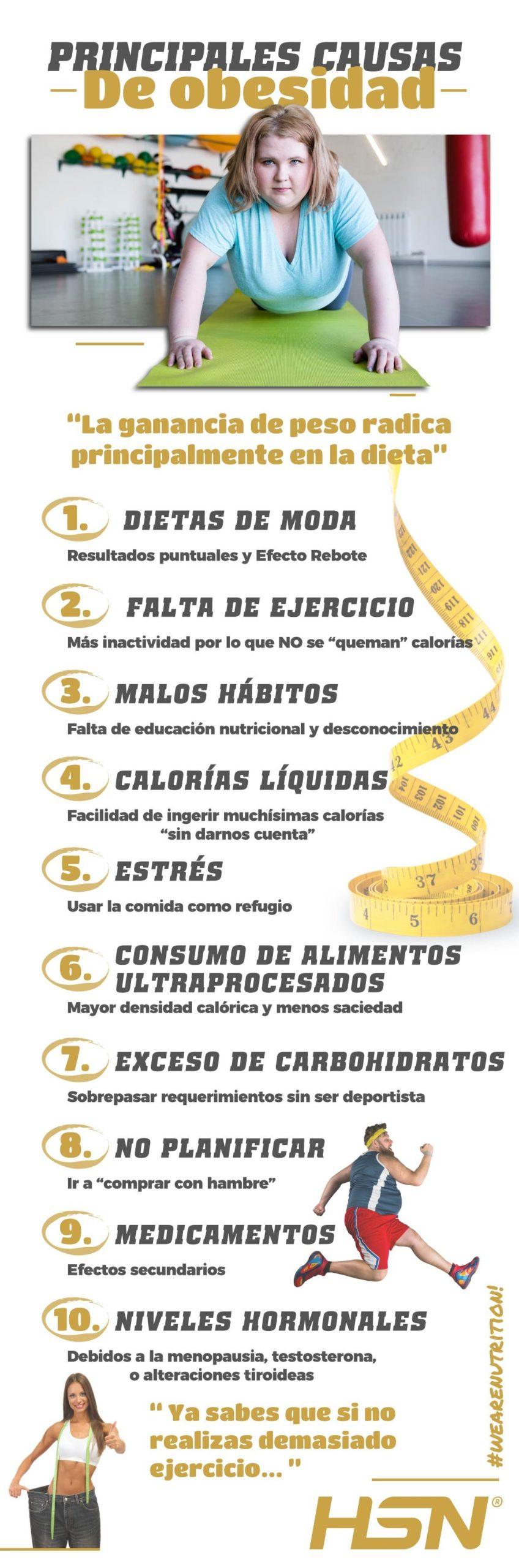 Causas obesidad