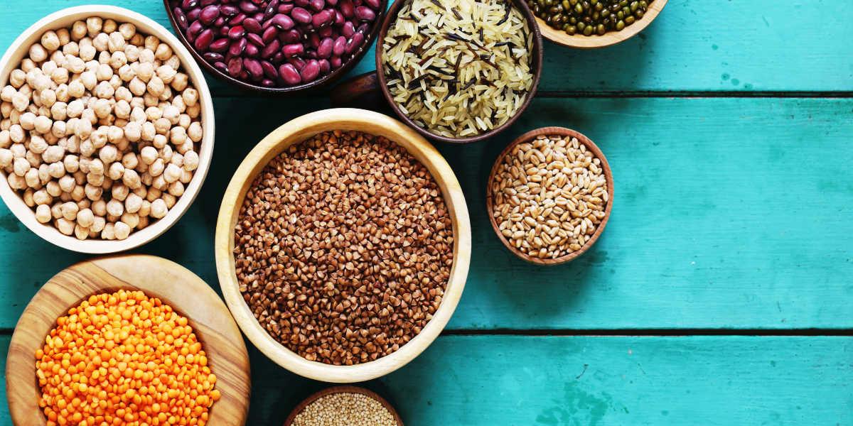 ¿Qué cantidad de proteínas aportan los distintos cereales?