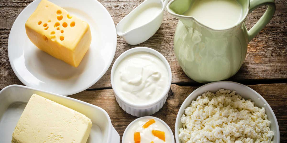¿Qué cantidad de proteínas aportan los lácteos?