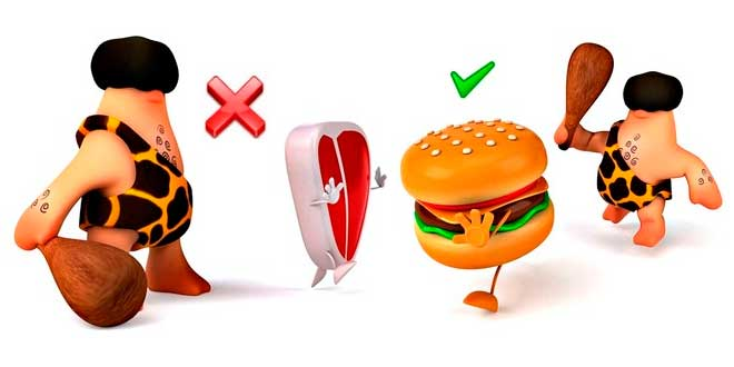 Ejemplo de Dieta Paleo para Perder Grasa