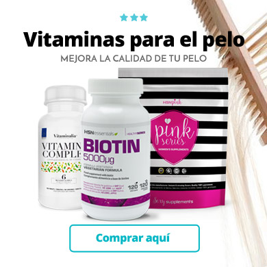 Vitaminas para contrarrestar la caida del cabello