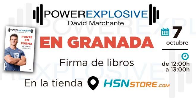 Firma Libro PowerExplosive en HSN