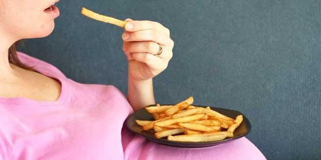 Alimentos que as grávidas não deve comer