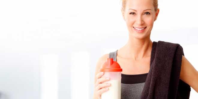 Batido de Proteínas después de entrenar