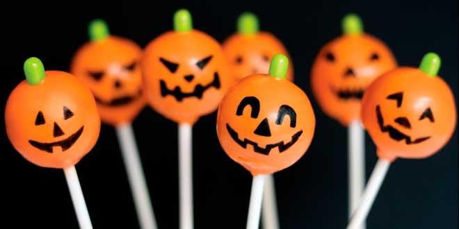 Cake Pops para Hallowen