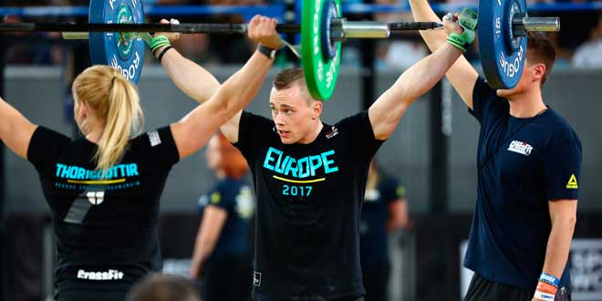 Evento 3 CrossFit Invitational 2017