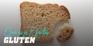 qué es el gluten y efectos que provoca