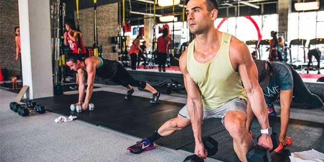 Entrenar en el gym en vacaciones
