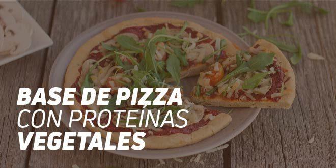 Base de Pizza con Proteínas Vegetales Fitness