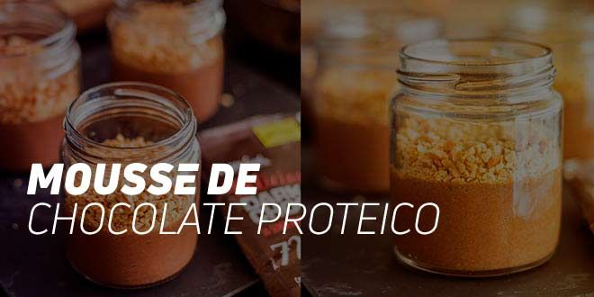 Mousse de Chocolate Proteico