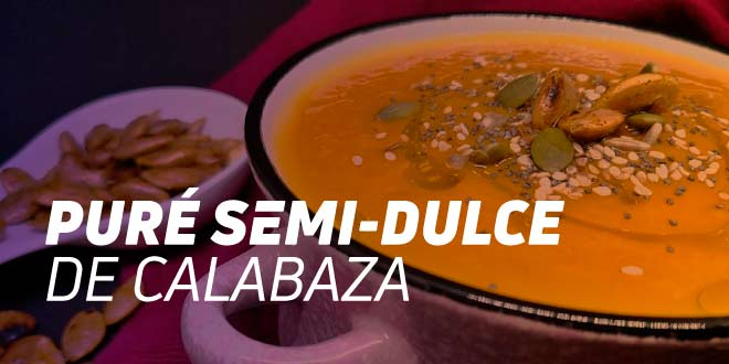 Puré semi-dulce de Calabaza