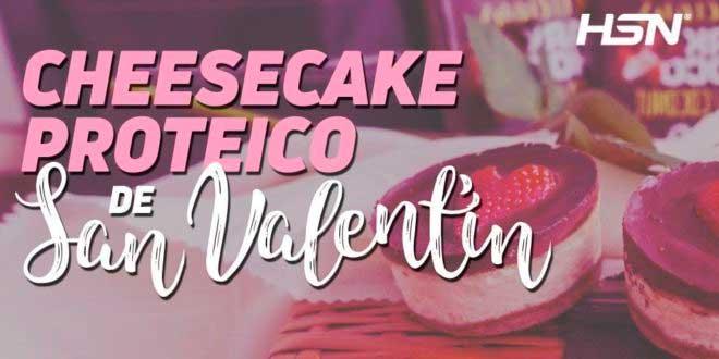 Mini Cheesecake Proteico para San Valentín