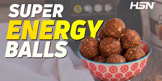 Receta Super Energy Balls