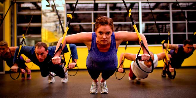Entrenamiento en Suspension con Peso corporal