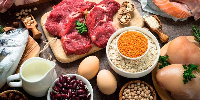 Aumenta las proteínas