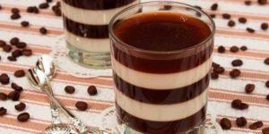 Receta Copa de Gelatina de Café y Mascarpone