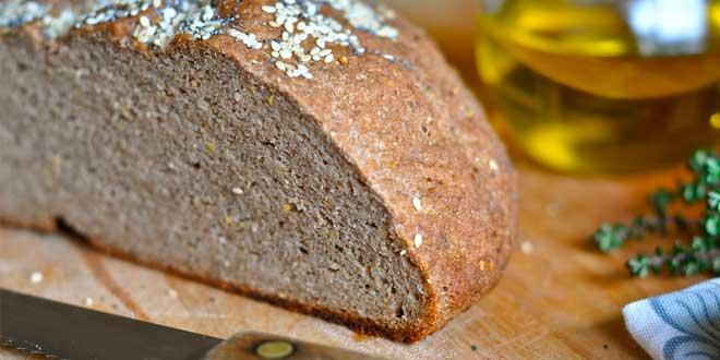 Pan con goma xantana