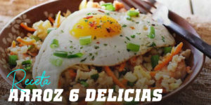 Receta de Arroz 6 Delicias