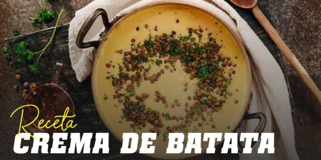 Crema de Batata con Lentejas