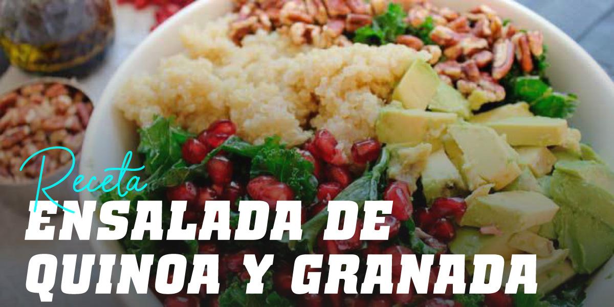 Ensalada Completa de Quinoa y Granada