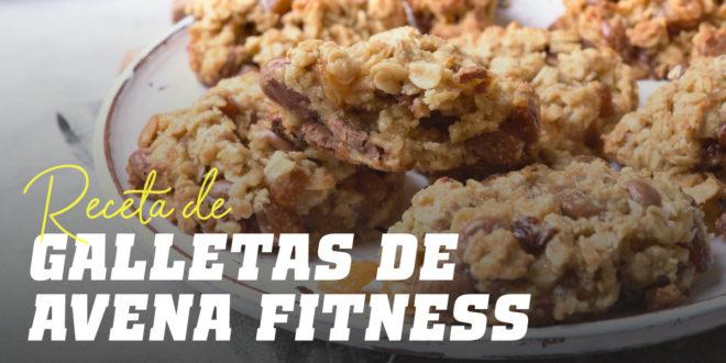 Receta galletas de avena fitness