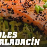 Receta de Noodles de Calabacín