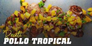 Receta de Pollo Tropical