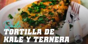 Receta de Tortilla de Kale y Ternera
