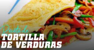 Receta de Tortilla de Verduras