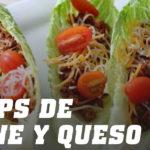Receta de Wraps con Carne y Queso