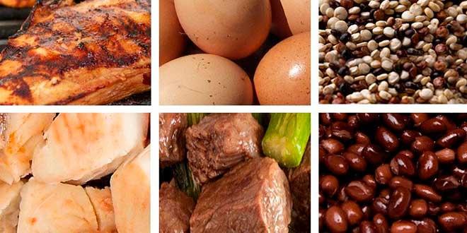Recomendaciones clasicas proteinas