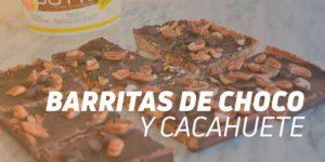 Barritas de Choco y Cacahuete