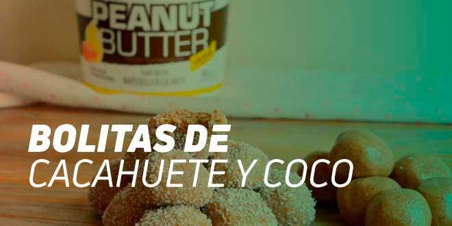 Bolitas de Coco y Mantequilla de Cacahuete