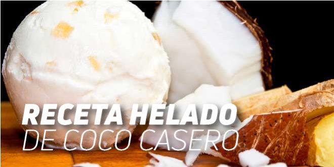 Receta Helado de Coco Casero