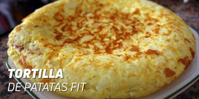 Receta Tortilla de Patatas Fitness