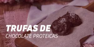 Receta Trufas de Chocolate Proteico