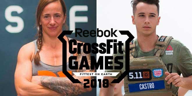Los Atletas Españoles que irán a los CrossFit Games 2018